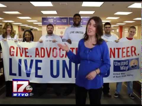WTVO/WQRF Stateline Volunteers Spotlight: United Way