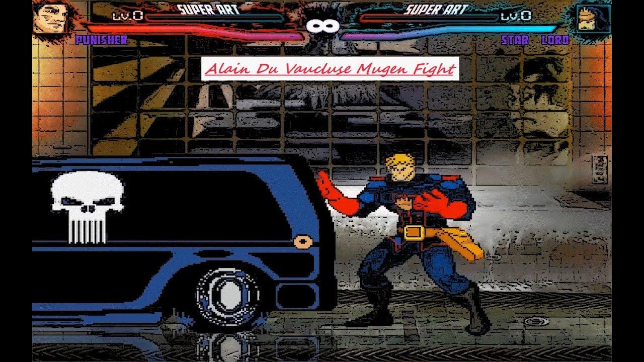 Mugen : Marvel : Punisher Vs Star Lord (Request)