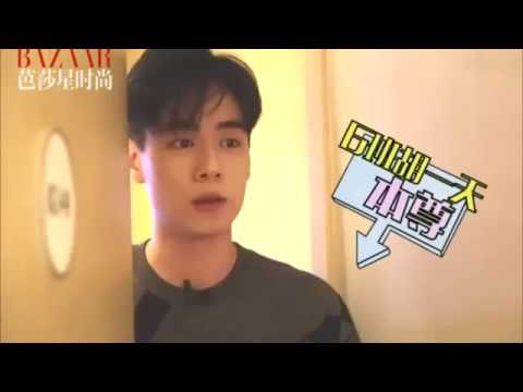 胡一天的背包里装了什么 & 他的理想型 [Eng Sub] Hu Yi Tian's interview_What's inside his backpack + His ideal type