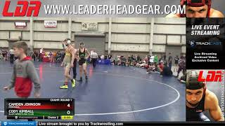 Middle School 136 Camden Johnson Montana Vs Cody Kimball SLAM Wrestling Club