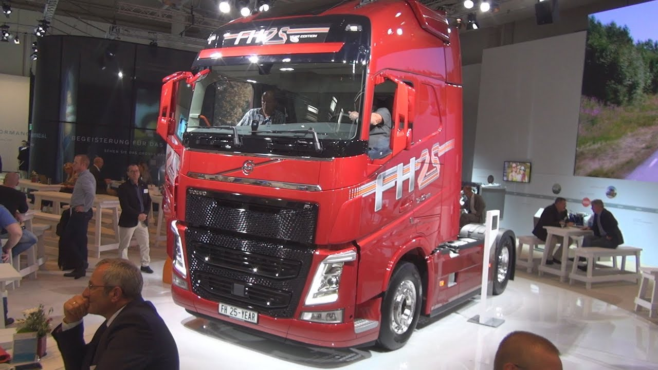 Volvo FH 540 I-Shift 25 Year Special Edition Tractor Truck Exterior and Interior - YouTube