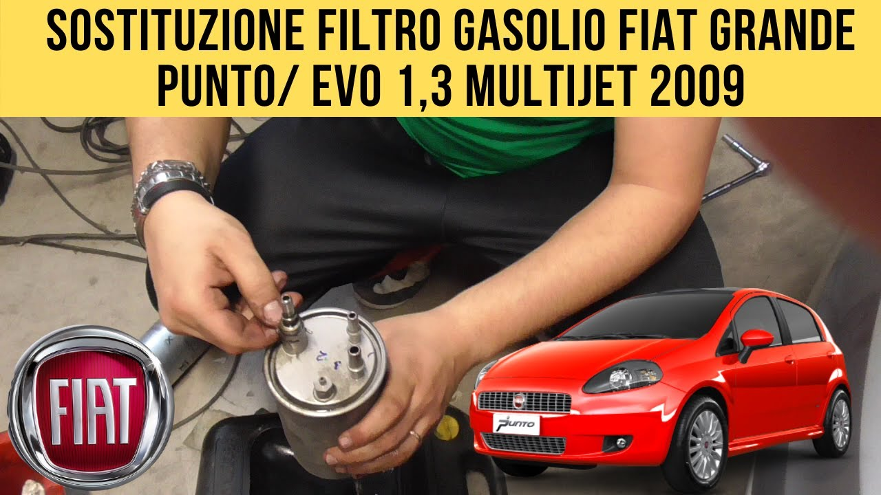 FILTRO GASOLIO FIAT GRANDE PUNTO 1.9 D Multijet 199