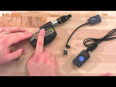 Mitutoyo Digimatic D2 - MDH Micrometer, Linear Height And LSM