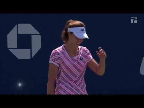 Alize Cornet Receives Code Violation 2018 US Open