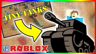Wrecking the Other Team in Roblox Tiny Tanks