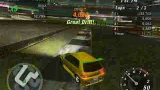Need For Speed Underground 2 - Hidden/Secret Race #7 Drift - Beacon Hill