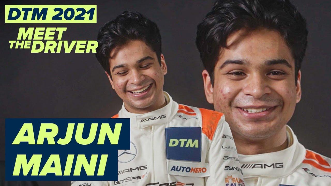 "Download ""It's a sin!"" | Arjun Maini | #MeetTheDrivers of #DTM2021"