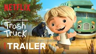 Trash Truck NEW Series Trailer 🚚 Netflix Jr