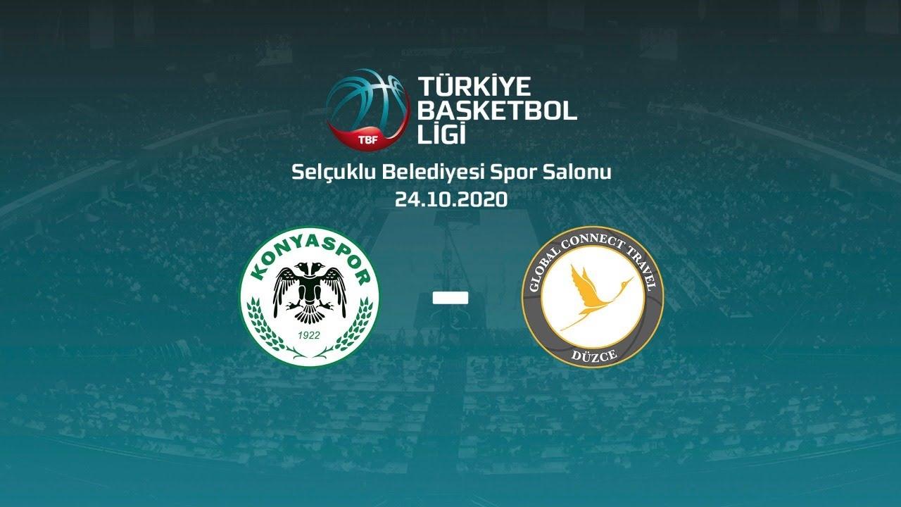 Büyükşehir Hastanesi Konyaspor Basketbol – Global Connect Travel Düzce TBL 2.Hafta