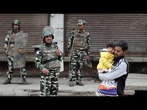 الهند: حصيلة ضحايا الصدامات بين الهندوس والمسلمين في نيودلهي تتجاوز 30 قتيلا  - نشر قبل 52 دقيقة