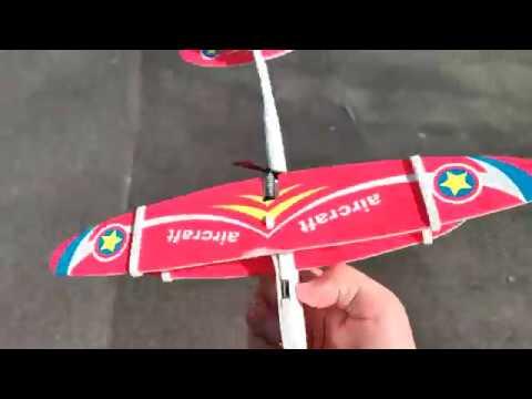 Самолет-планер с Алиэкспресс. Полеты на 50-100 метров!