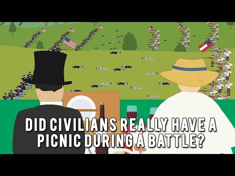 Did Civilians Really Have A Picnic During A Battle?