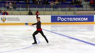 Антон Шулепов Короткая программа Мужчины Кубок России по фигурному катанию 2020 21