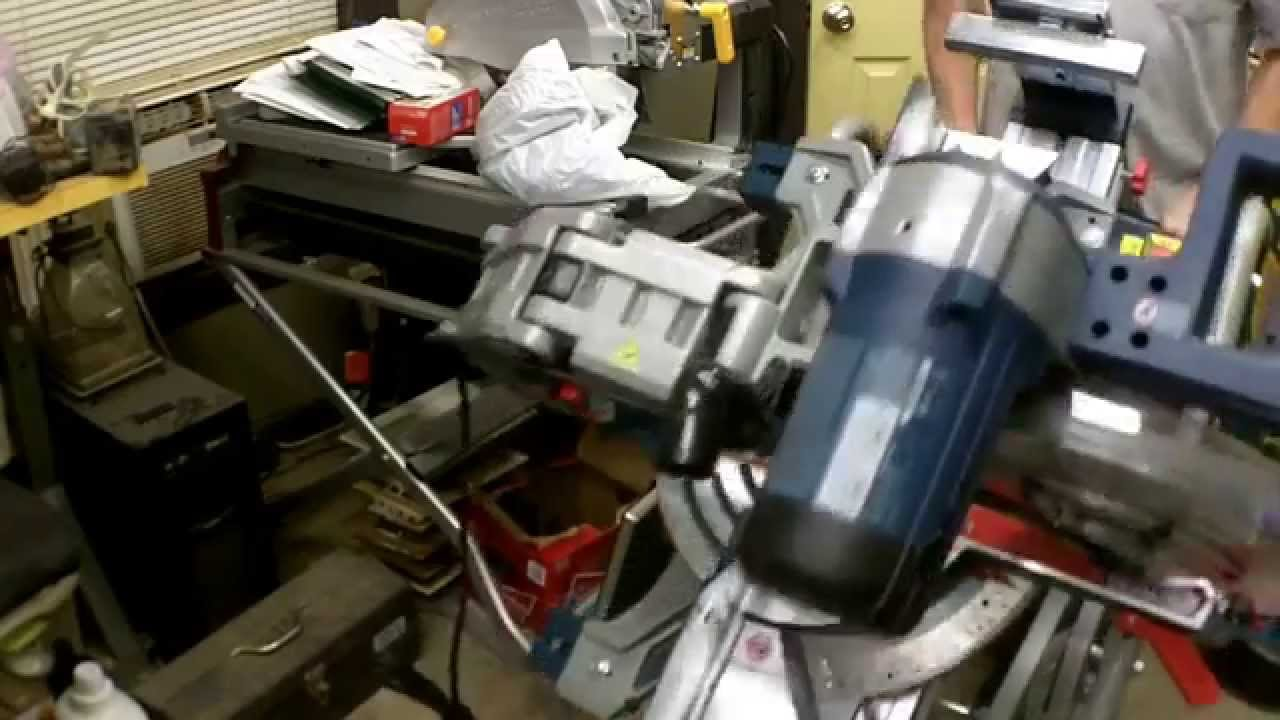 Bosch Gravity Rise Miter Saw Stand Review And Embly Model T4b