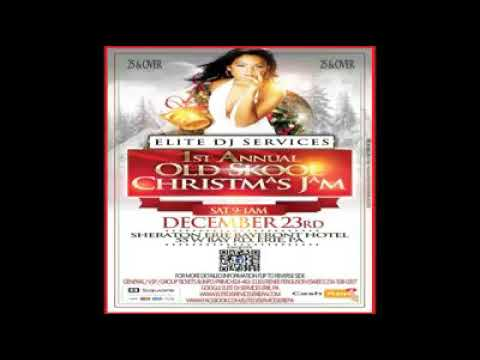 Radio Promo (Elite DJ Services 1st Annual Old SKOOL Christmas Jam)