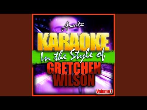 Full Time Job (In the Style of Gretchen Wilson) (Karaoke Version)