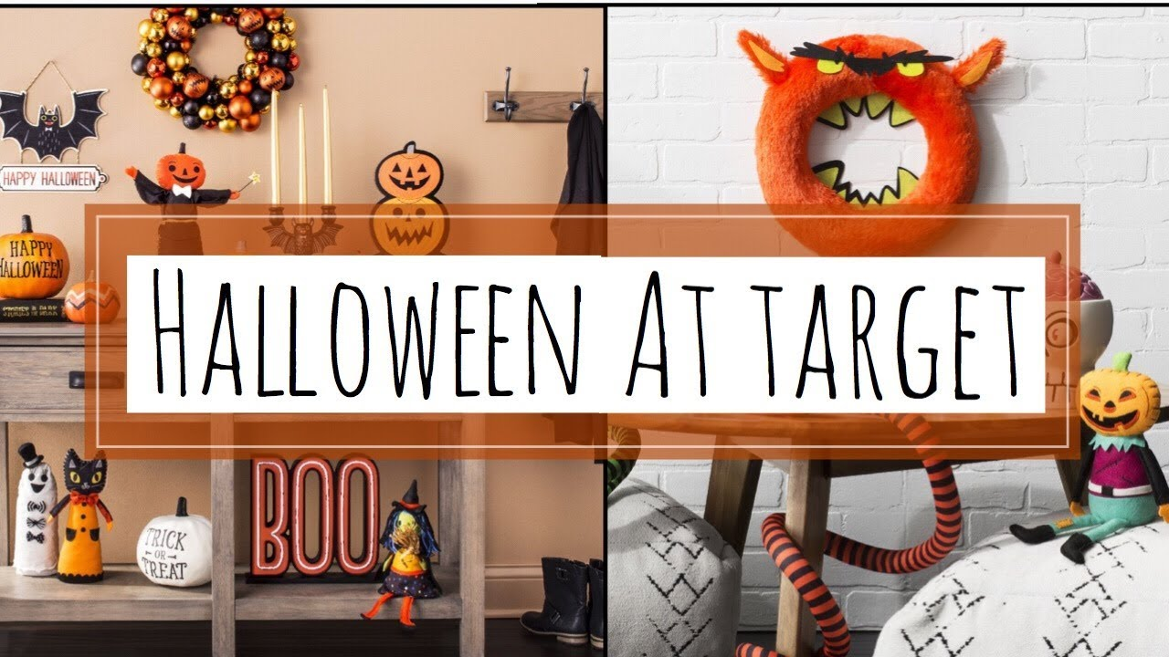 target fall halloween shop with me september 18 2017 youtube