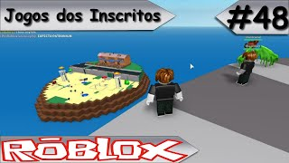 SUBSCRIBERS GAMES-ROBLOX-Natural disasters #48