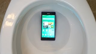 Sony Xperia Z2 TOILET TEST