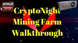 CryptoNight Mining Farm 58.1Kh/s @ 5303W