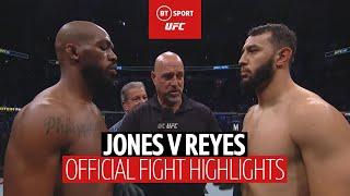 Jon Jones vs Dominick Reyes | UFC 247 fight highlights