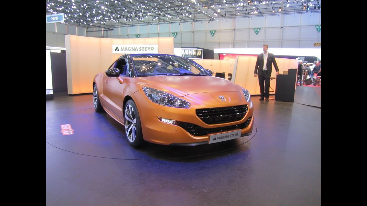 peugeot rcz magna steyr cabrio studie youtube. Black Bedroom Furniture Sets. Home Design Ideas