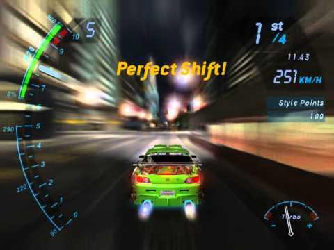 Need For Speed Underground/ Honda S2000 Correndo até o FIM!!! #1