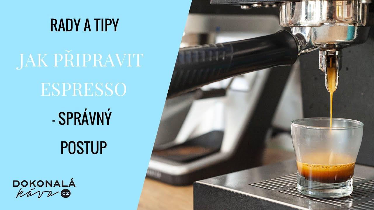 Download Jak připravit espresso. Návod na správný postup