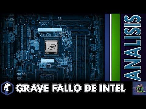 Fallo Grave en Millones de Chips Intel / CPU mas Lento / Kernel / Patch