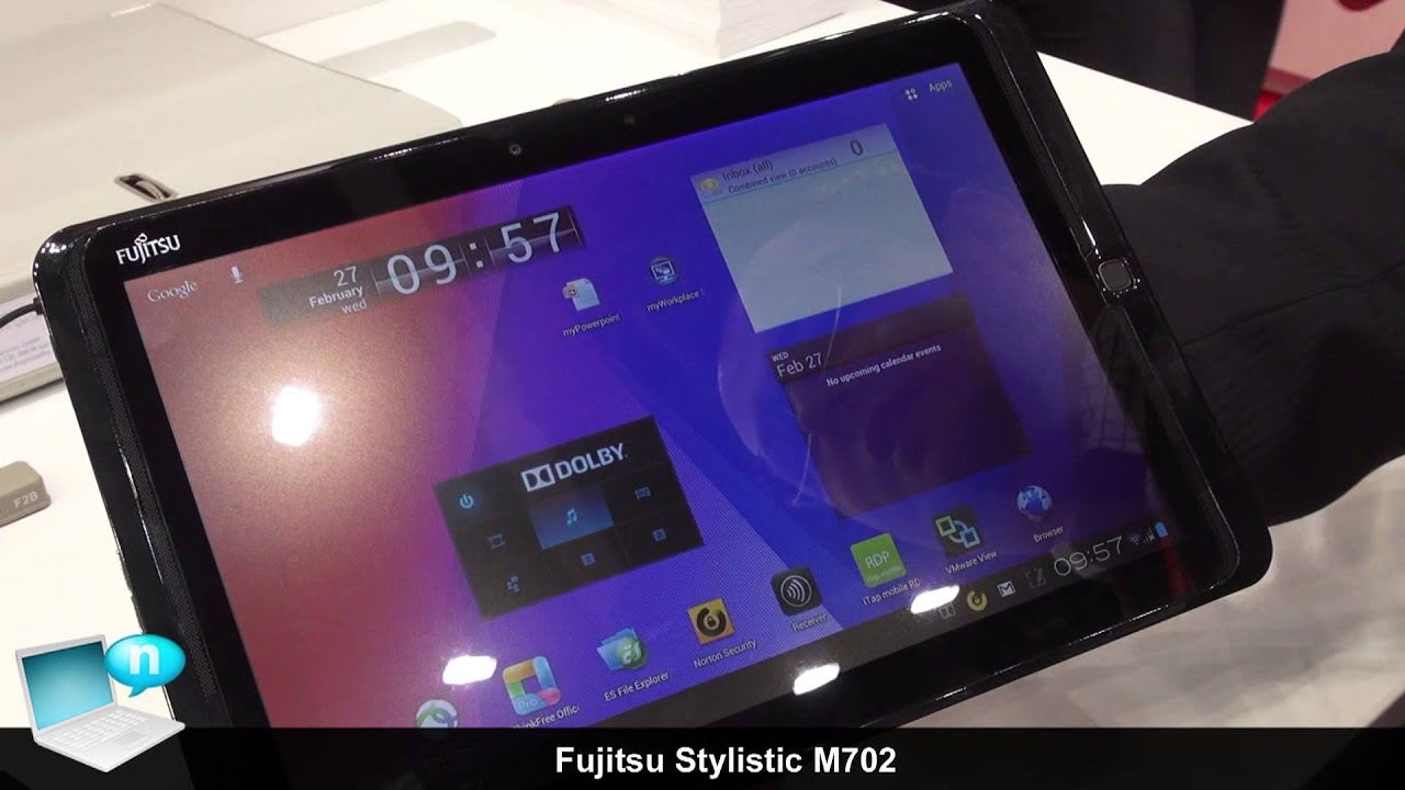 Fujitsu Stylistic M702 Rugged Tablet With Tegra 3 And Android Ics