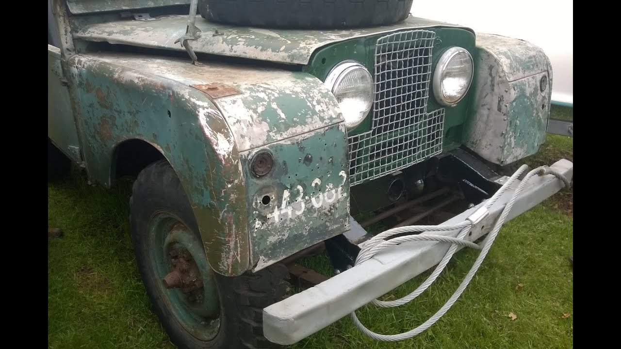 Land Rover Series 1 Test Drive Youtube