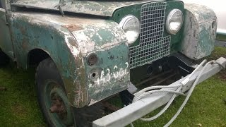 Land Rover Series 1 test drive