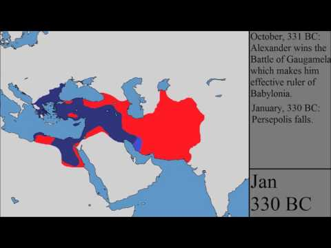 The Conquests of Alexander the Great: Every Month