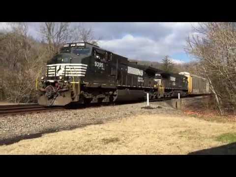 New Symbol Ns 29q Wb Autorack Train Youtube