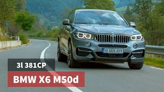 BMW X6 M50d xDrive 381CP 2016 / Test Drive