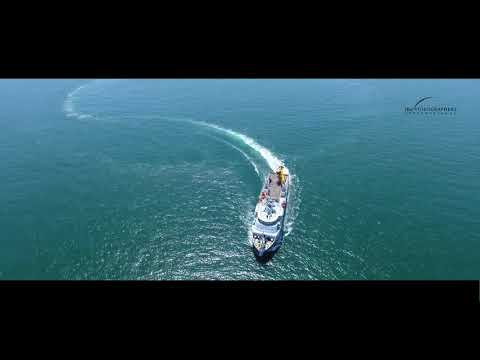 Drone Showreel - Sea Trial of Malaysia Marine Department Vessel