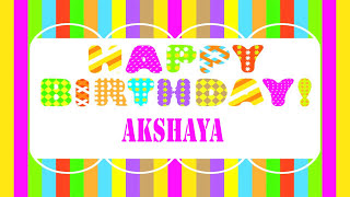 Akshaya   Wishes & Mensajes - Happy Birthday