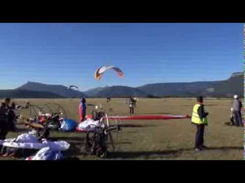 Skydance paramotor tour Frankrijk 2013 (slalom world championship)