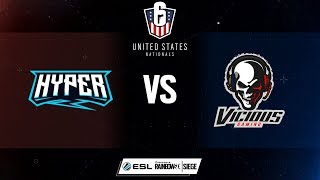 R6USN - Hyper Esports vs. Vicious Gaming - Week 8