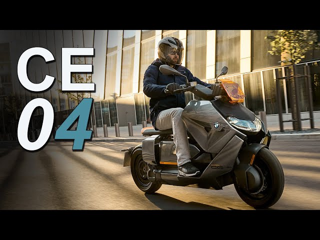 2022 BMW CE 04 Electric Scooter   New Model Overview & Pricing