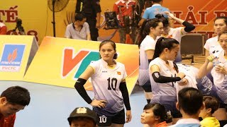 Nguyễn Linh Chi - Chuyền hai xuất sắc nhất tại VTV Cup 2018