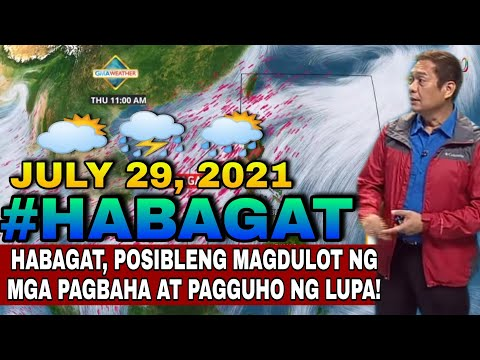 HABAGAT, MAGPAPAULAN MULI | WEATHER UPDATE TODAY | WEATHER FORECAST FOR TODAY | ULAT PANAHON TODAY