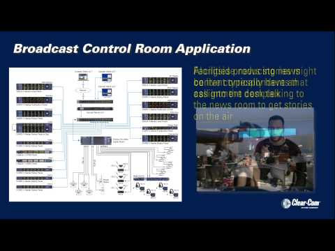 Application: Broadcast Control Room