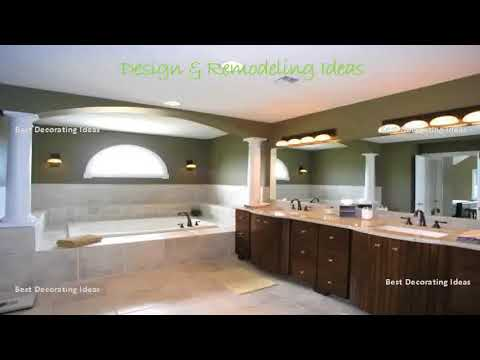 Art Deco Bathroom Vanity with Mirror and Lights | Small Living Room Decorating & Design