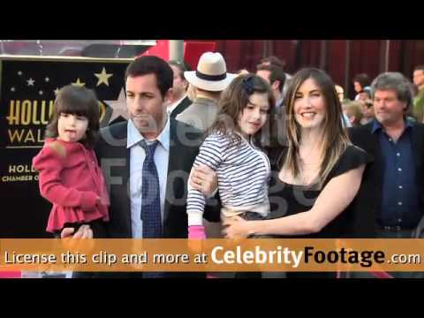 Adam Sandler Star on the Hollywood Walk of Fame