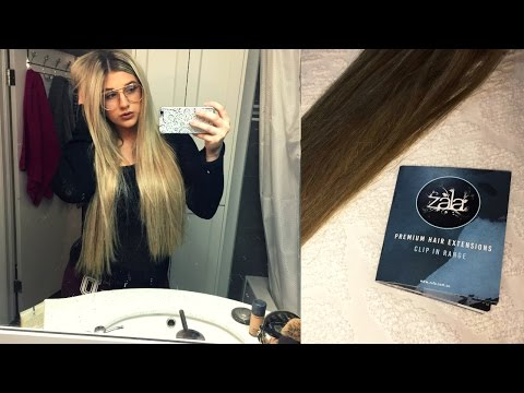Zala Hair Extension Review + How I Clip Them In!!