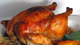 طريقة عمل دجاج مشوي ذهبي ولذيذ