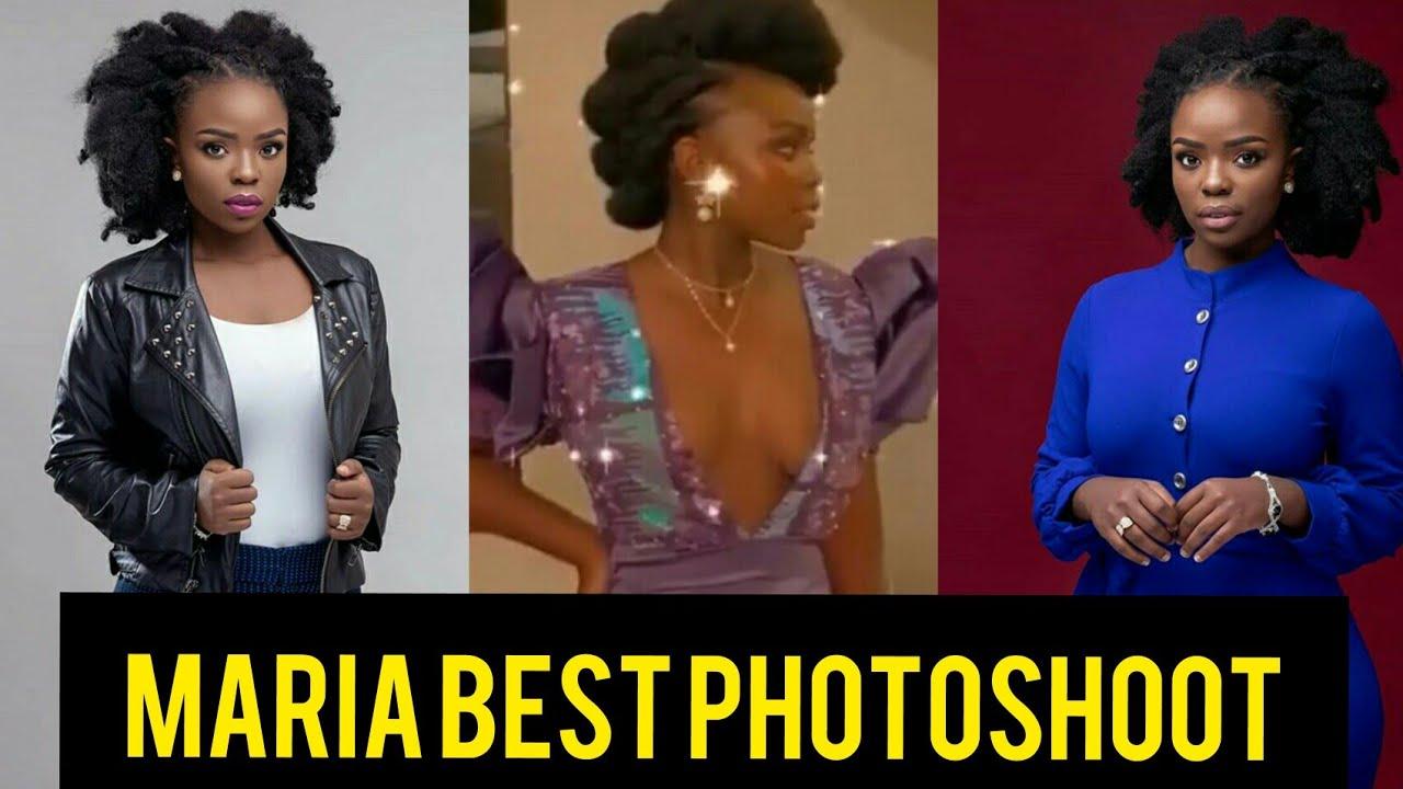 MARIA WA KITAA ON PHOTOSHOOT /MARIA CITIZEN TV TODAY'S EPISODE