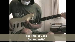 The Thrill Is Gone (2020 William Shatner /Ritchie Blackmore)- Blackmore100