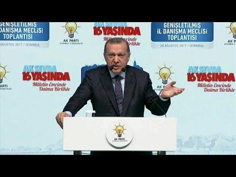 Erdogan in war of words with Merkel